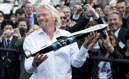 """""""Going into space is a hard business. It keeps my mind buzzing,"""" Branson said"""