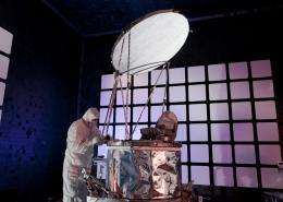 GPM microwave imager instrument for NASA and JAXA mission arrives at Goddard