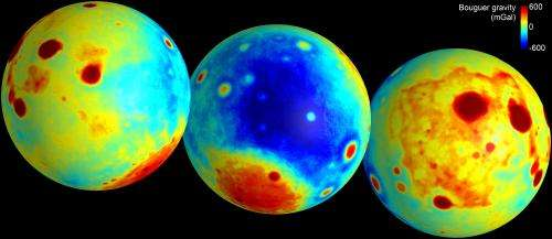 GRAIL creates most accurate Moon gravity map