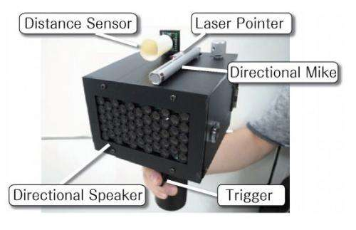 Researchers develop 'SpeechJammer' gun that can quash human utterances