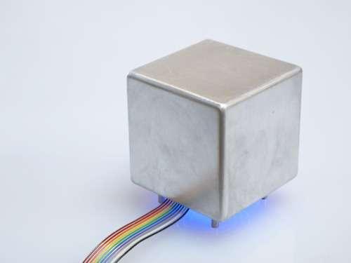 Haptic cube lets you feel tomorrow's temps