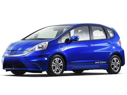 Honda Fit electric car gets 118 mpg, but costs add up