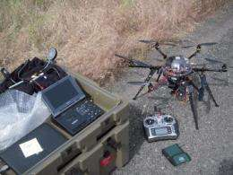 'Honeycombs' and hexacopters help tell story of Mars