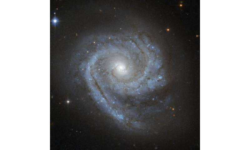 Hubble sees a spiral within a spiral