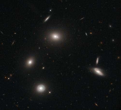 Hubble traps galactic fireflies