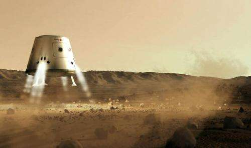 Humans on Mars by 2023?