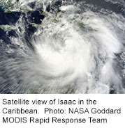 Hurricane isaac could stir up allergies, asthma