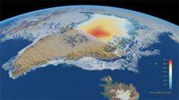 Ice mission shows precise changes in Arctic sea-ice thickness