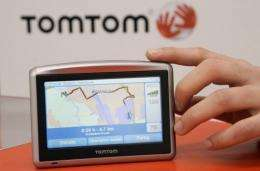In-car navigation system TomTom