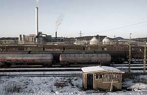 Increased amount of rail freight