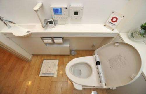 In technology and hygiene-obsessed Japan, high-tech toilets are found in over 70% of Japanese households