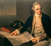 James Cook and the transit of Venus