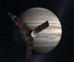 Jupiter-bound spacecraft set for key maneuver