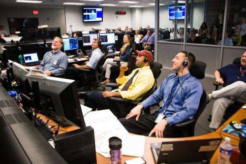 Just hours after launch, RBSP takes first science steps