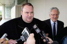 Kim Dotcom is currently free on bail in New Zealand ahead of an extradition hearing in March