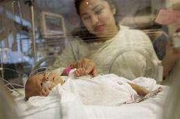 LA hospital prepares to send tiny baby home (AP)