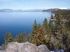 Lake Tahoe water clarity improved in 2011