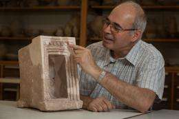 Archaeologist finds first evidence of cult in Judah at time of King David