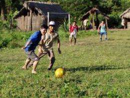 Low testosterone level in Amazonian tribe responds to competition