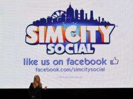 """Lucy Bradshaw GM of Maxis presents """"Simcity Social"""" for Facebook"""