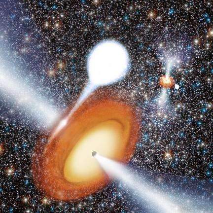 Surprising black-hole discovery changes picture of globular star clusters