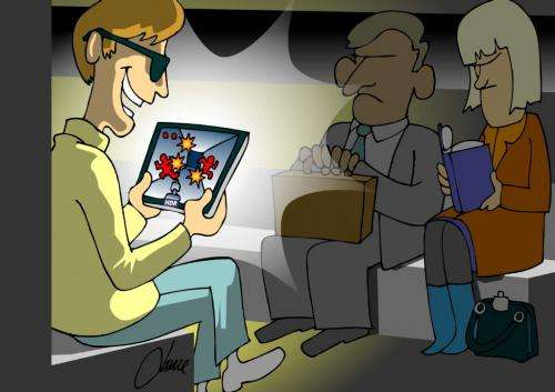 Maths helps mobiles & tablets match eyes' ability to switch from sunshine to shadow