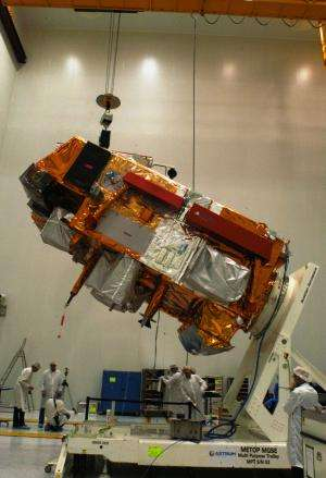 MetOp-B launches with NASA Goddard-developed instruments