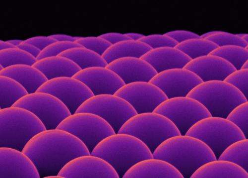 Microlenses from a test tube