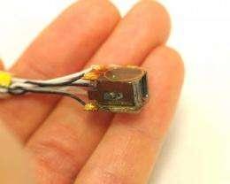 Mini-sensor measures magnetic activity in human brain