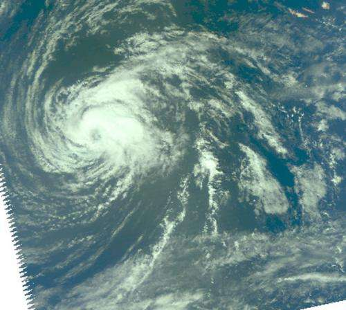 Nadine bringing tropical storm conditions back to the Azores