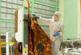 NASA Landsat's thermal infrared sensor arrives at Orbital