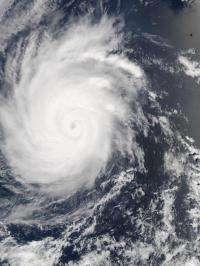 NASA sees Emilia as a Category 2 hurricane now