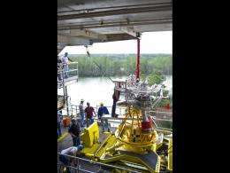 NASA's J-2X engine kicks off 2012 with powerpack testing