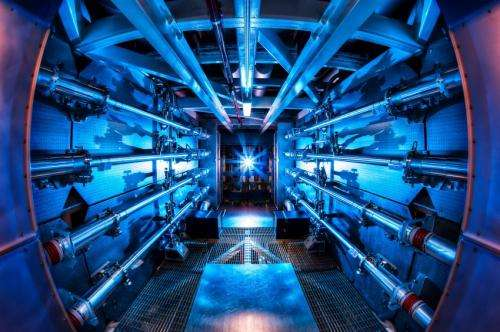 National Ignition Facility makes history with record 500 terawatt shot