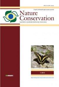 Nature Conservation -- a new open-access, peer-reviewed, interdisciplinary journal launched