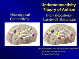 New brain imaging and computer modeling predicts autistic brain activity and behavior