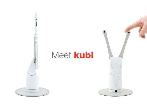 New Indiegogo project KUBI turns tablets into telepresence devices