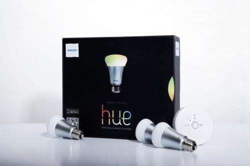 New LED bulb enables wireless light control, personalized with smartphone or tablet app