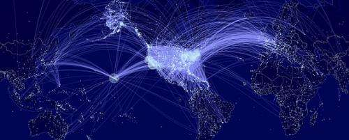 New model of disease contagion ranks U.S. airports in terms of their spreading influence