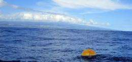 New PacIOOS wave buoy deployed in waters off Hawai'i Island