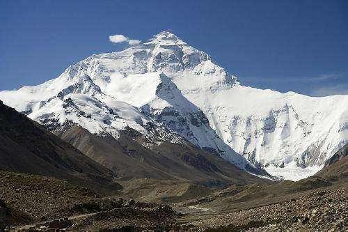 New satellite data on melting of Himalayan glaciers