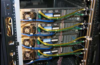 New server cooling technology deployed in pilot program at Calit2