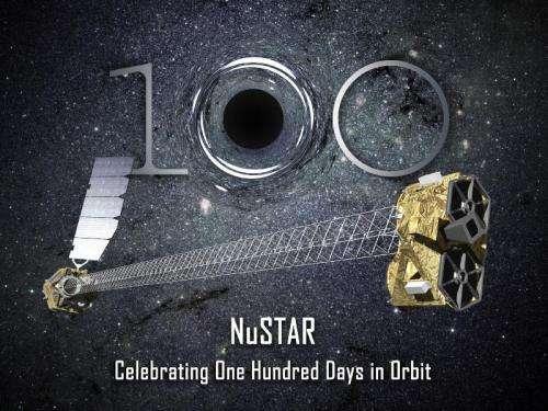NuSTAR celebrates first 100 days