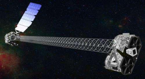 NuSTAR mission status report: Observatory unfurls its unique mast