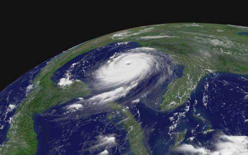 Ocean surface loses resistance during extreme hurricanes
