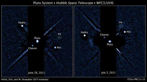 Hubble Space Telescope Detects Fifth Moon of Pluto