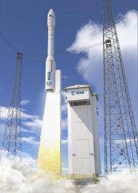 Vega rocket ready for first flight