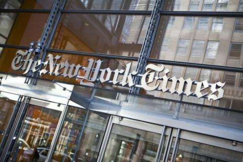 Paid subscribers to The New York Times and the International Herald Tribune rose by 57,000 or 11%