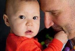 Parental bonding makes for happy, stable child