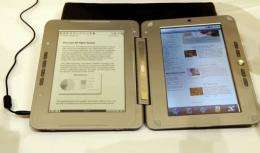 People prefer e-books when they want fast access and portability, a new study says